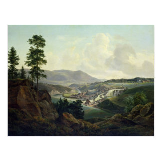 Saw Mill in Norway, 1827 Postcard