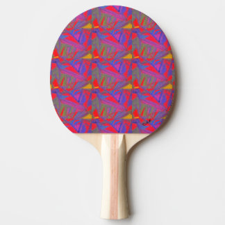 Saw-Toothed Ping Pong Paddle
