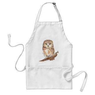 Saw Whet Owl Apron