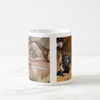 Saw Your Mom Today Coffee Mug