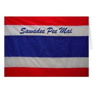 Sawadee Pee Mai-Thai New Year Card