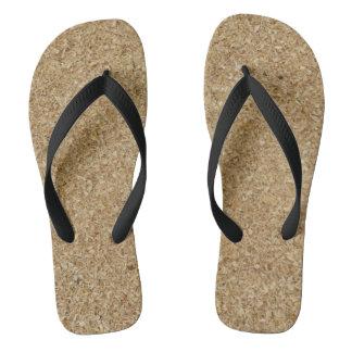 Sawdust Flip Flops