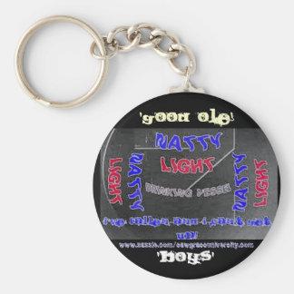 Sawgrass University Aluminum Arts Division Basic Round Button Key Ring