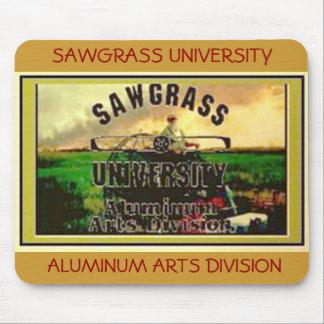 SAWGRASS UNIVERSITY ALUMINUM ARTS DIVISION MOUSE PAD