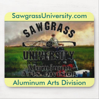 Sawgrass Universty Aluminum Arts Division MousePad
