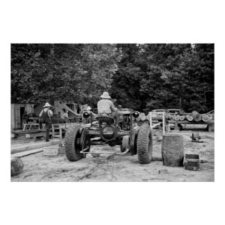Sawmill Workhorse, 1936 Poster