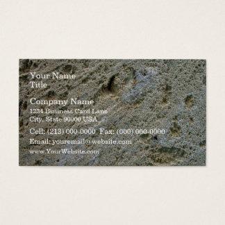 Sawn limestone block detail texture business card