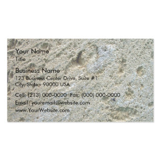 Sawn limestone block detail texture pack of standard business cards