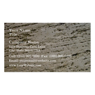 Sawn Limestone Texture Pack Of Standard Business Cards