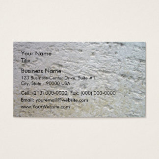Sawn Limestone Texture with shade Business Card
