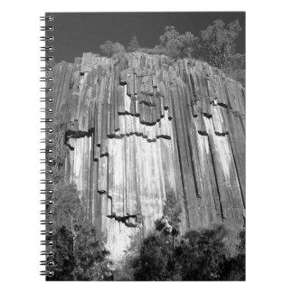 Sawn Rocks in Black & White Notebook