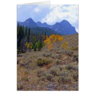 Sawtooth Mountains Card