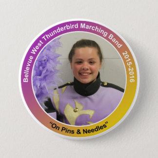 sax_CarriganB 7.5 Cm Round Badge