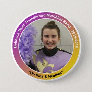 sax_CelesteK 7.5 Cm Round Badge