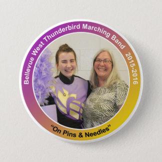 sax_CelesteK-mom 7.5 Cm Round Badge