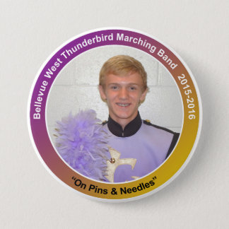 sax_ChaseP 7.5 Cm Round Badge