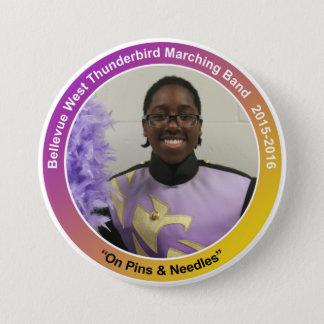 sax_EricM 7.5 Cm Round Badge