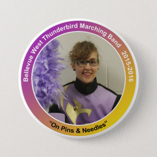 sax_HelenJ 7.5 Cm Round Badge