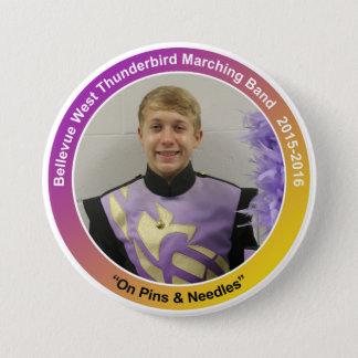 sax_JoshH 7.5 Cm Round Badge