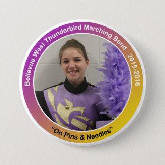 sax_KarenG 7.5 Cm Round Badge