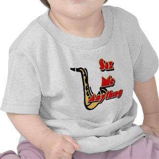 Sax Me Anything Tshirt