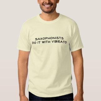 sax player humor tees