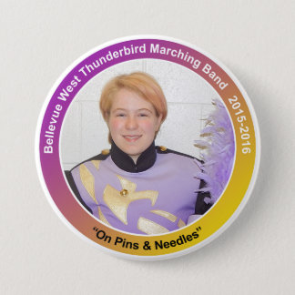 Sax_RebekkahS 7.5 Cm Round Badge