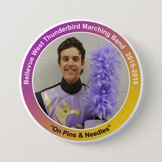 sax_RyanD 7.5 Cm Round Badge