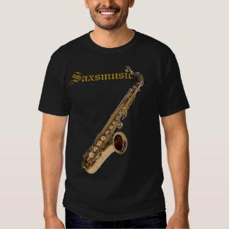 SAX TENOR, Saxmusic T-shirt