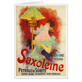 Saxoleine, Jules Chéret Card