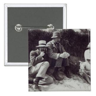 Saxon Sydney Turner, Clive Bell, and Julian 15 Cm Square Badge