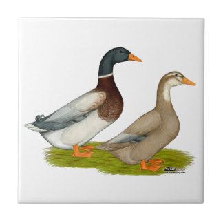 Saxony Ducks Ceramic Tile