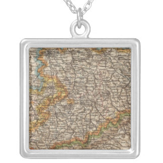 Saxony Silver Plated Necklace