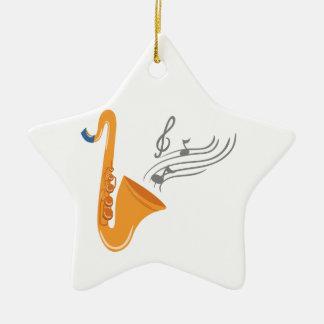 Saxophon saxophone sax ceramic ornament