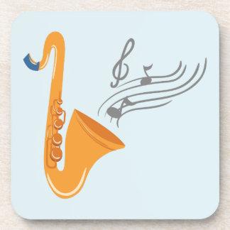 Saxophon saxophone sax coaster