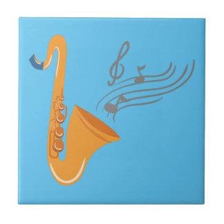 Saxophon saxophone sax tile