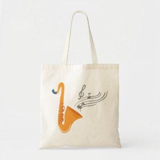Saxophon saxophone sax tote bag