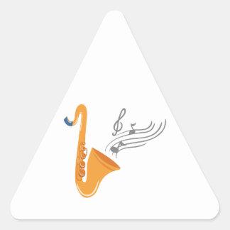 Saxophon saxophone sax triangle sticker
