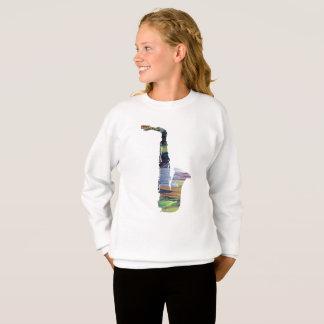 Saxophone Art Sweatshirt