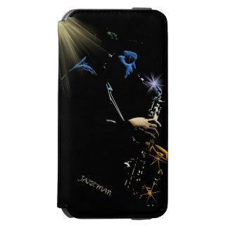 Saxophone Blues Jazz Player Music-lovers Art Incipio Watson™ iPhone 6 Wallet Case