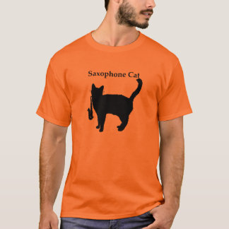 Saxophone Cat T-Shirt