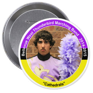 Saxophone CB (2015) 10 Cm Round Badge