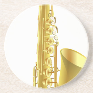 Saxophone Coaster
