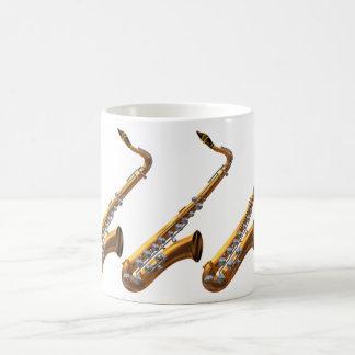 Saxophone Coffe Mug