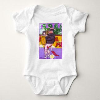 Saxophone Cow Baby Bodysuit