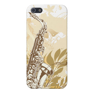 Saxophone - Customize Template iPhone 5 Covers