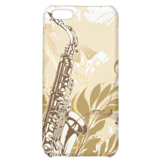 Saxophone - Customize Template Case For iPhone 5C