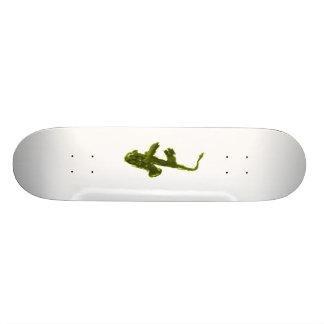 Saxophone design green version custom skateboard