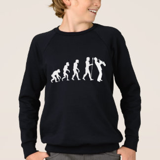 Saxophone Evolution Sweatshirt