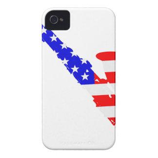 Saxophone Flag Background Case-Mate iPhone 4 Case